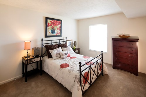 Rental Chic Before Photos - Master Bedroom