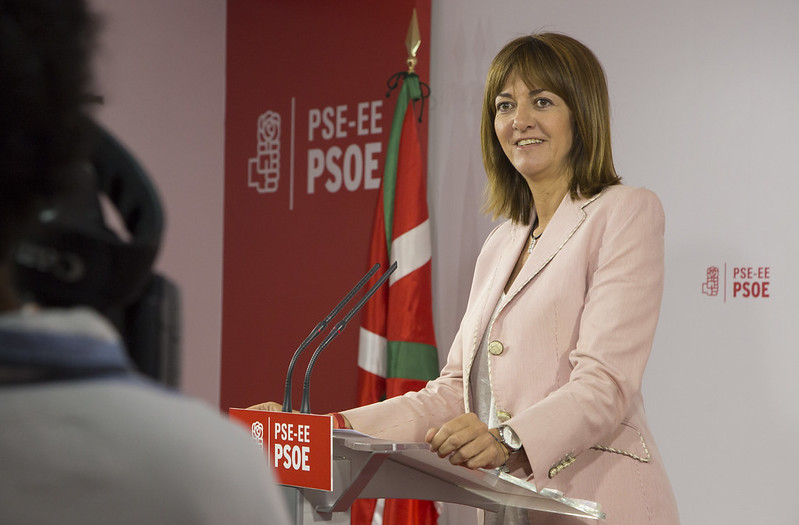 Idoia Mendia valora los resultados de las primarias del PSOE