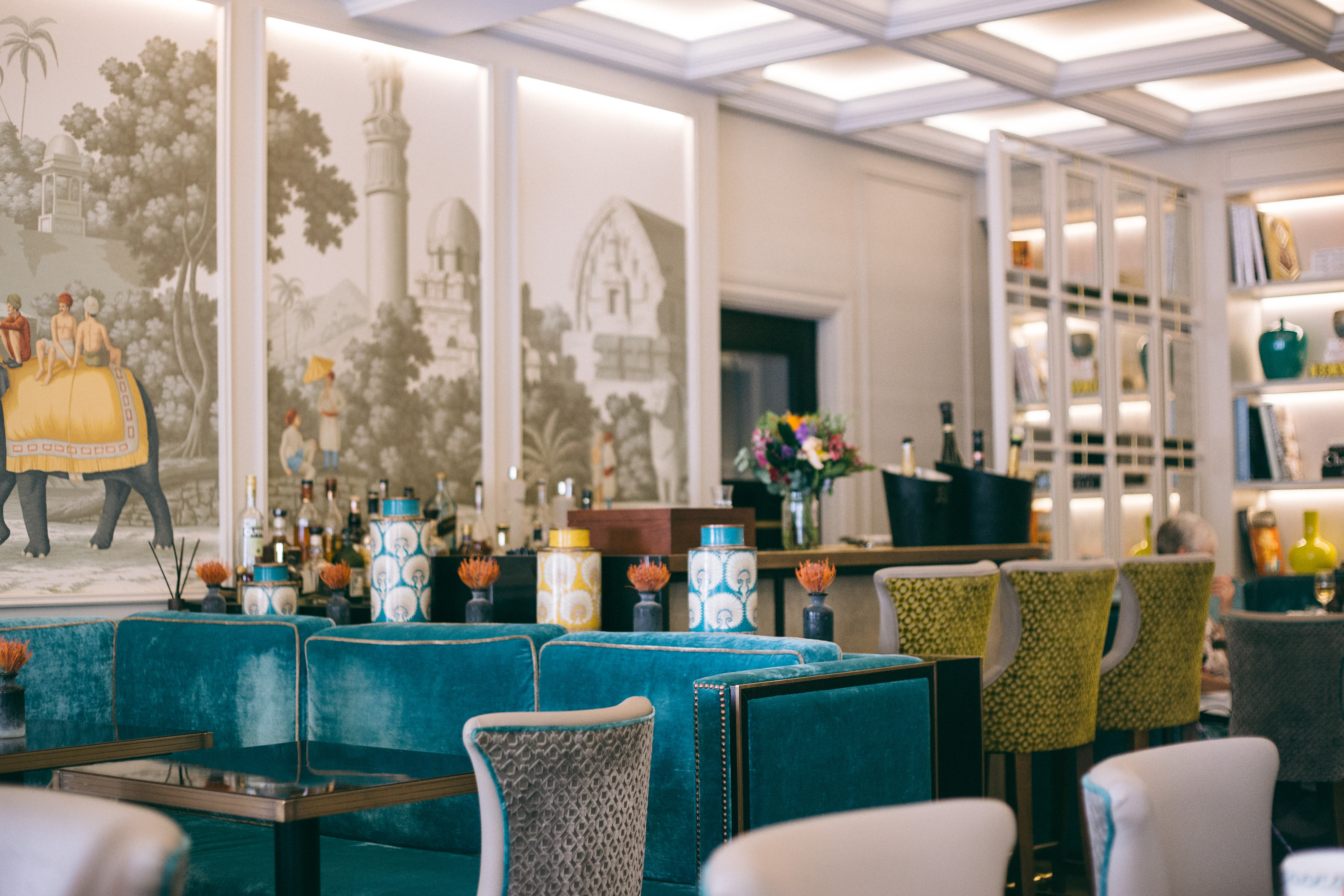 {a staycation in Mayfair} via chevrons & éclairs