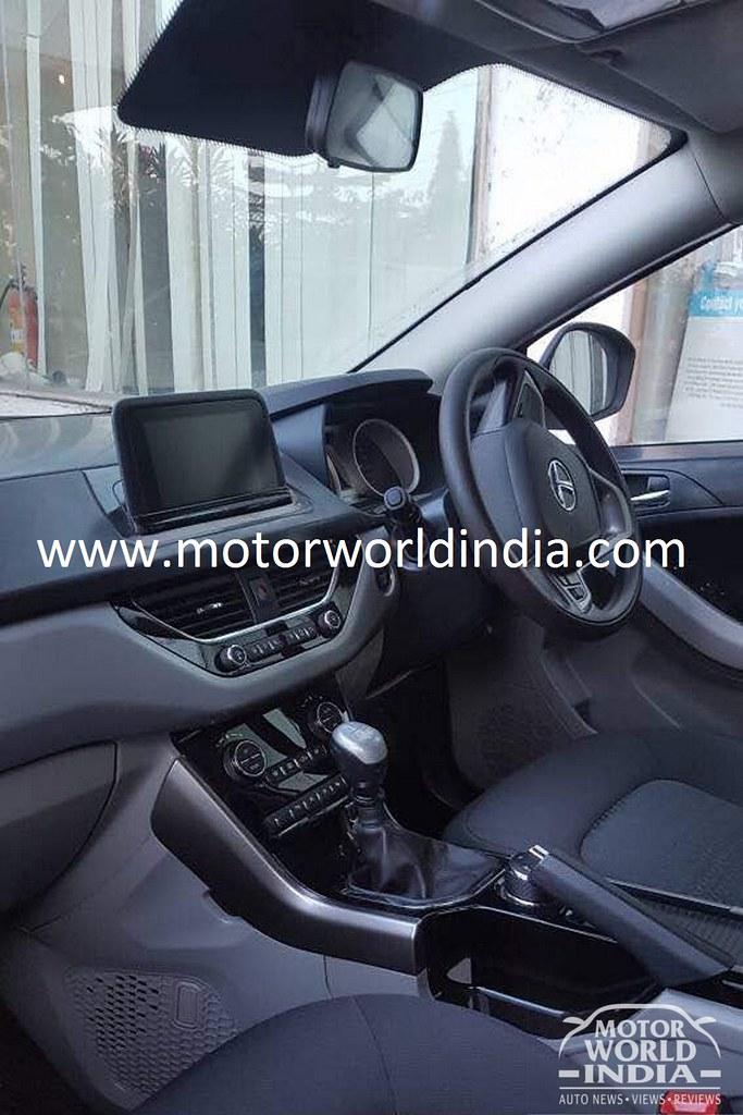 Tata-Nexon-Interior-Spy-Shots