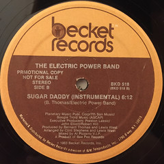 THE ELECTRIC POWER BAND:SUGAR DADDY(LABEL SIDE-B)