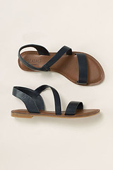 Seasalt Sunny Cove sandals, navy