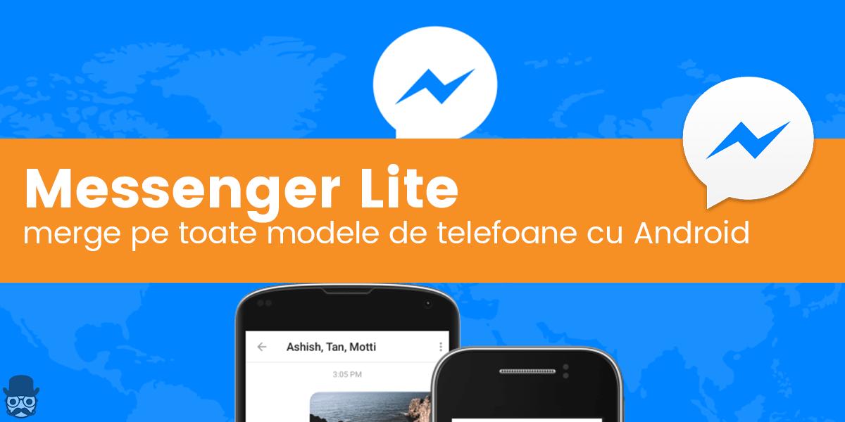 Descarca Facebook Messenger Lite