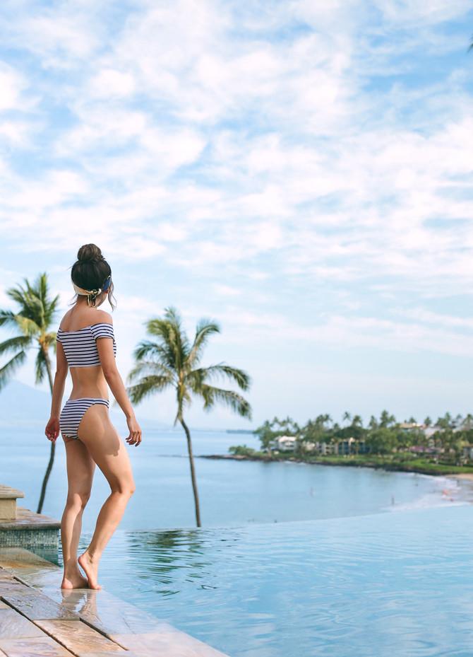 four seasons maui hawaii resort adult infinity pool