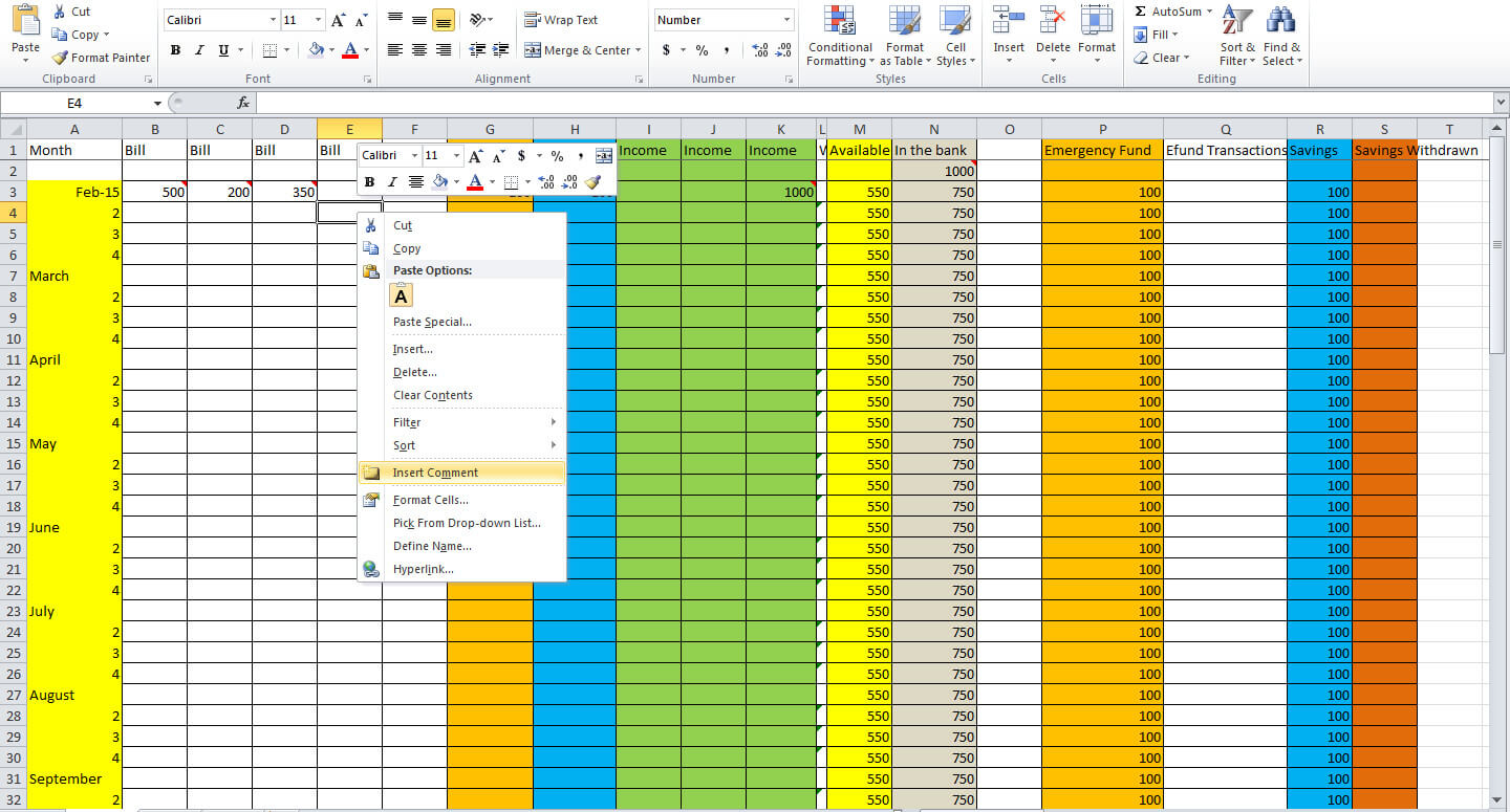 3 Essential Tips for Creating a Budget Spreadsheet Tastefully – Household Budget Worksheet