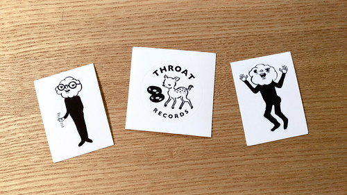 throat stickers