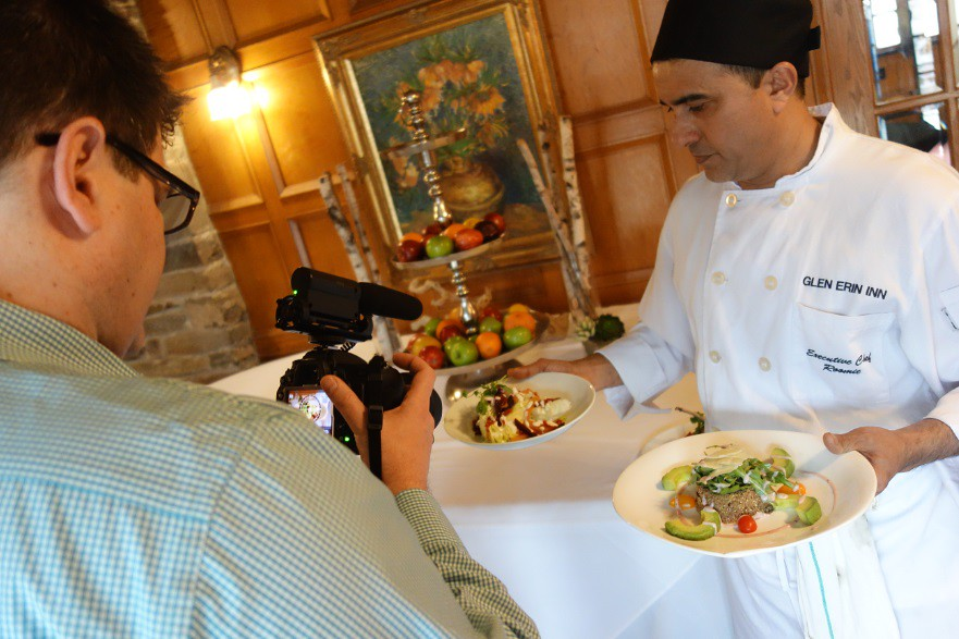 Chef Roomie at Glenerin Inn debuts the new summer menu