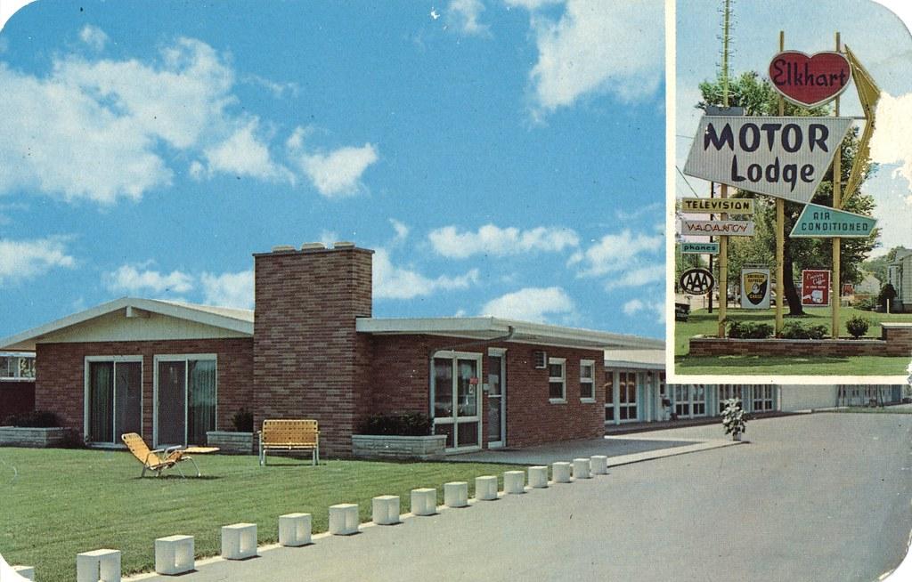 Elkhart Motor Lodge - Elkhart, Indiana