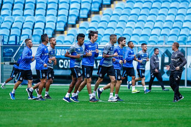 Treino Grêmio 18/05/2017