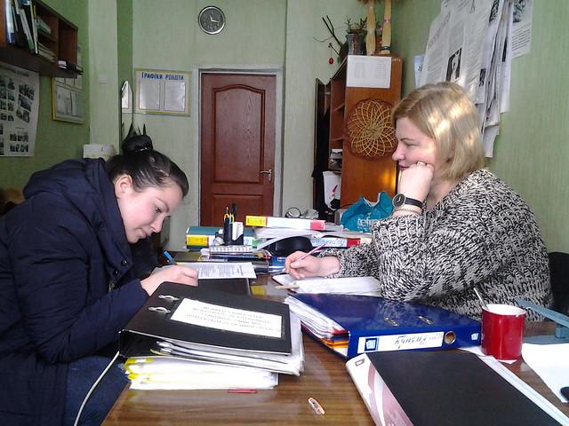 Індивідуальна бесіда з ученицею 30 ШЛПМ групи Гузик К.