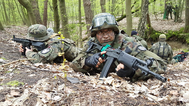 Filming Polish paramilitary group SJS Strzelec - Part 1