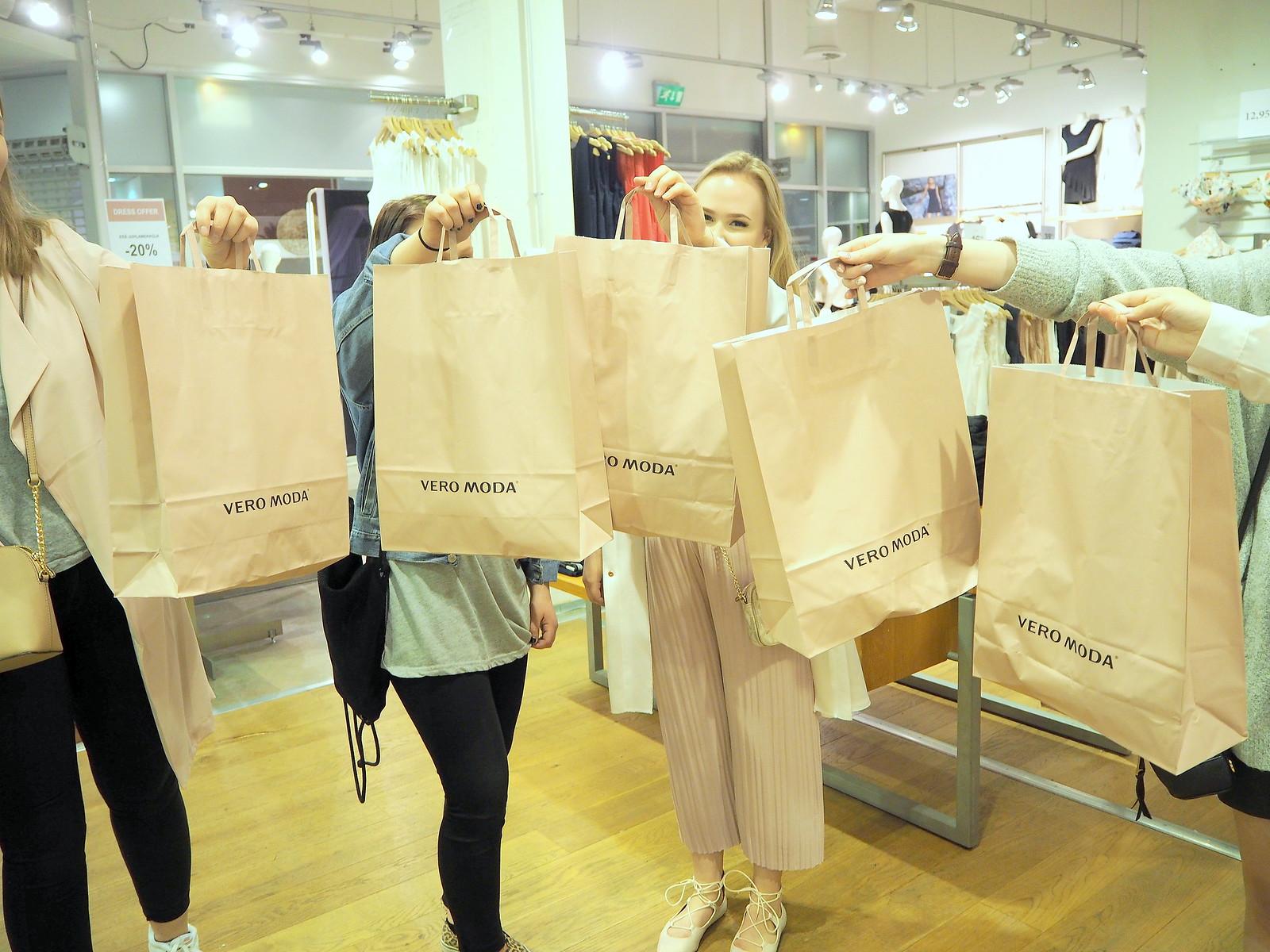vero moda pirkkala shoppailuilta