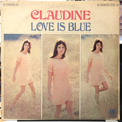 CLAUDINE:LOVE IS BLUE(JACKET A)