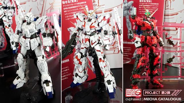 56th Shizuoka Hobby Show - RG Unicorn Gundam