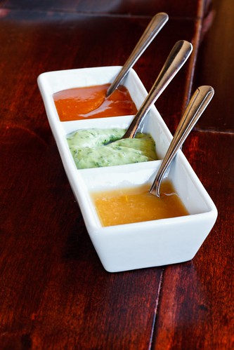 Sauces: Habanero, Spicy Avocado, Barbecue