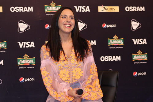 Jamala Press Conference 2017