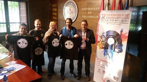 32ª Feria Internacional del Disco de Valladolid Castilla y León. Rueda de Prensa.  *Mónica Martínez / K Eventos y Producciones
