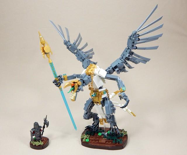 LEGO Warhammer Sarthorael Lord of Change