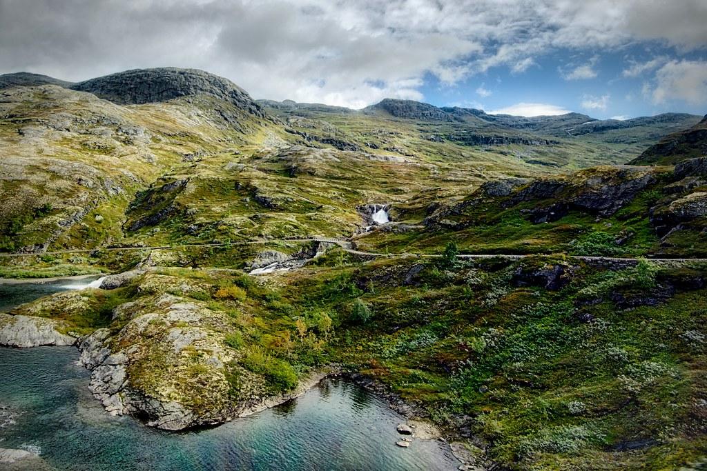 Landscape of Aurland