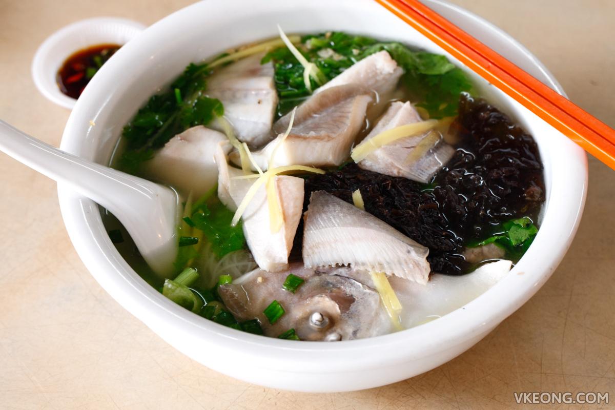 일요일 Huat Kee Bangsar Teochew 생선 국수