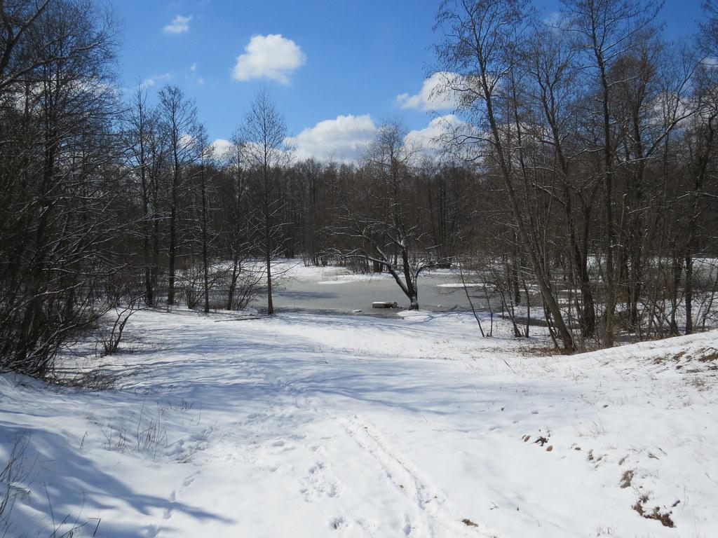 Апрельский снег во Владимире
