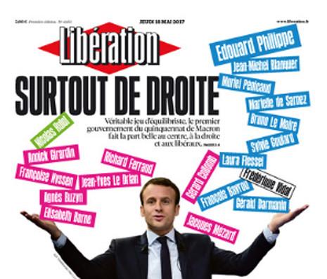 17e18 Libe Primer gobierno Macron