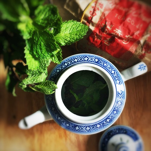 chinese tea, homemade, how make, mint tea, Moroccan Mint Tea, recipe, 摩洛哥, 薄荷茶