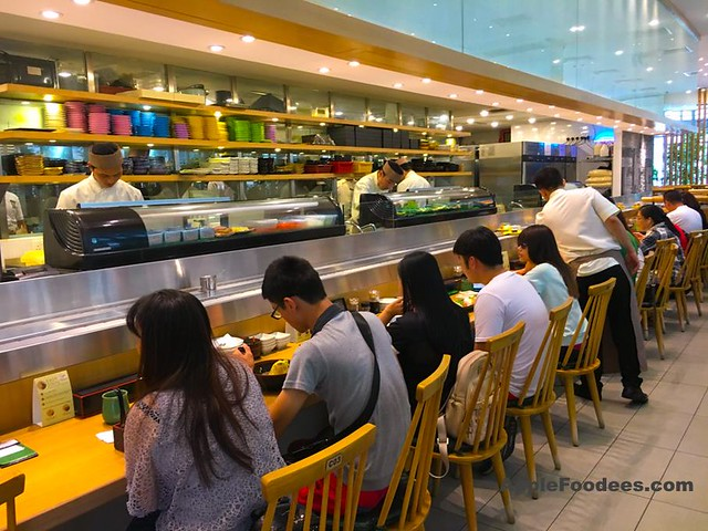 Sushi Tei Nu Sentral - Counter Seating Area