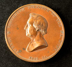 1851 Robert Patterson Mint Medal obverse