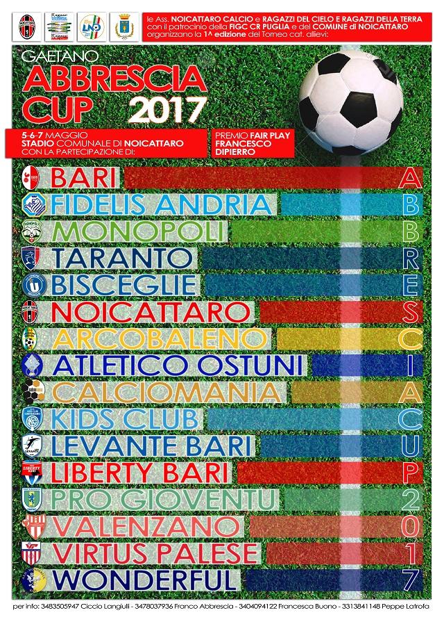 Noicattaro. GAetano Abbrescia Cup 2017 intero