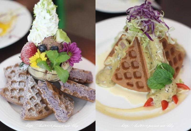 【新北板橋】182 PANCAKE-超美紫色鬆餅,還有獨特酥脆鹹鬆餅早午餐,大推!(邀約)