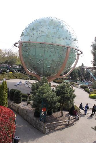 Slagharen globe ride