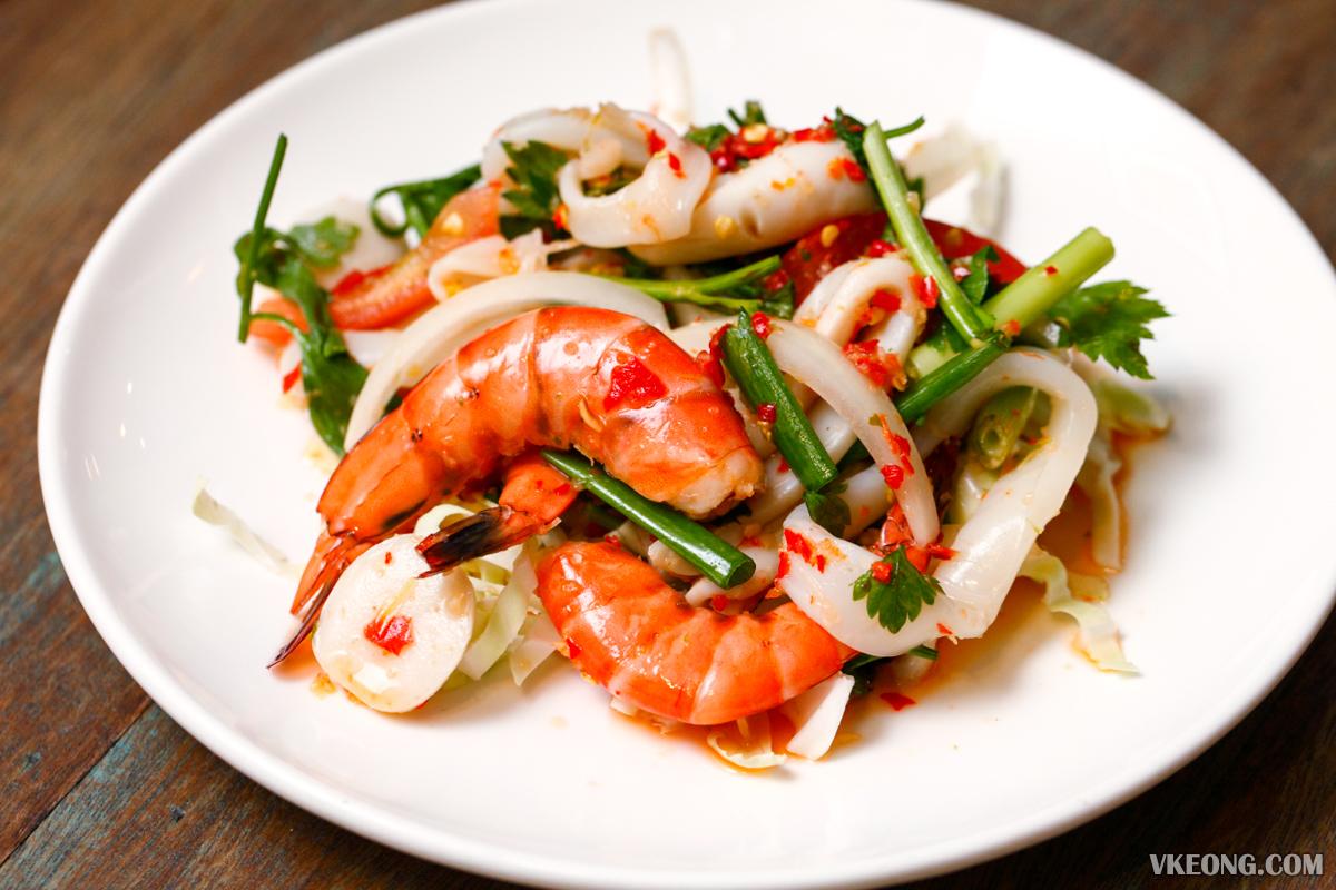 Thailicious Solaris Mont Kiara Seafood Salad