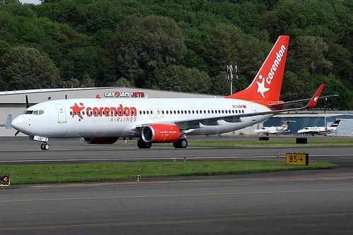 Boeing 737-8SH(WL) Corendon Airlines TC-COR LN6395
