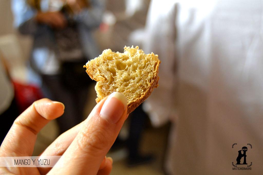 Pan de mango y yuzu