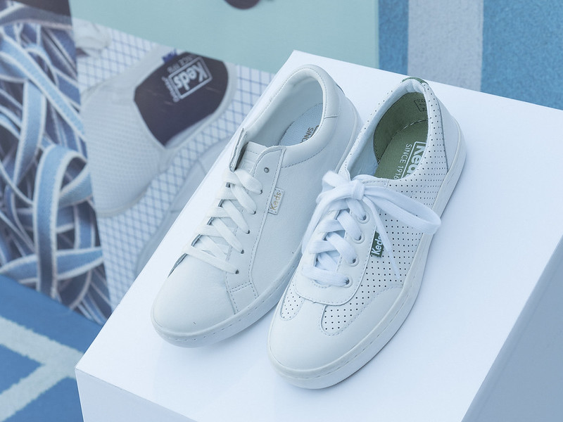 the all leather new court classic sneakers by keds