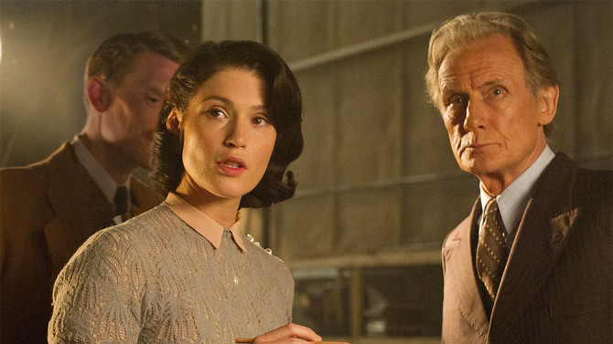 Gemma Arterton and Bill Nighy are fine in THEIR FINEST.