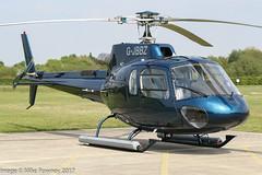 G-JBBZ - 2002 build Eurocopter AS350B3 Ecureuil, visiting Barton
