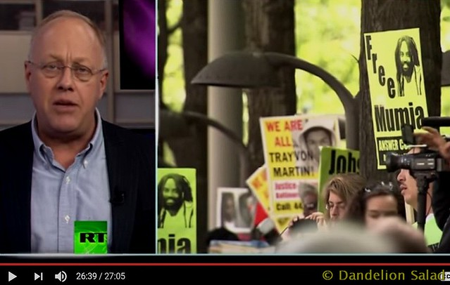 Chris Hedges and Mumia Abu-Jamal: 32nd Anniversary of MOVE Bombing