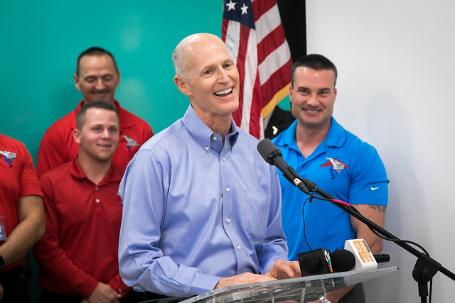 "Best Home Services hosts Governor Rick Scott on his ""Fighting for Florida's Future"" tour"