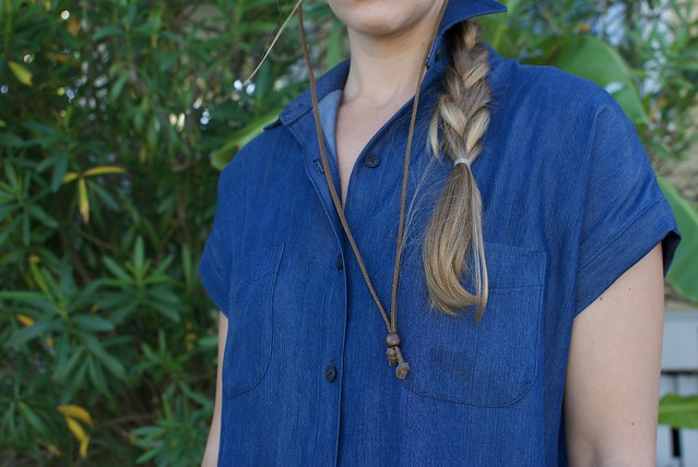 Mood Fabrics Tencel Denim Kalle Shirtdress