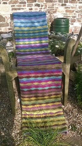 Finished Moorland Blanket