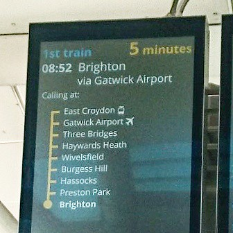 Train times Blackfriars to Brighton