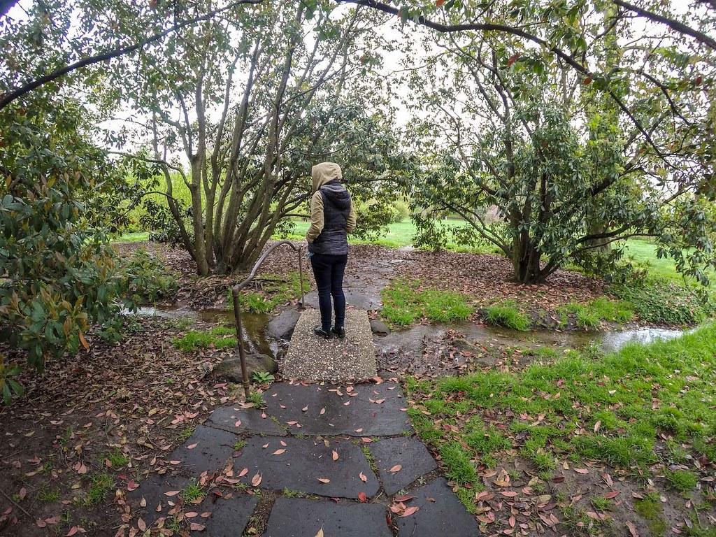 Brooklyn Botanic Garden little bridge