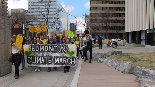 People's March on Climate Change - Edmonton