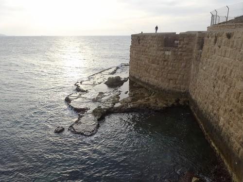 Stadsmuren van Akko