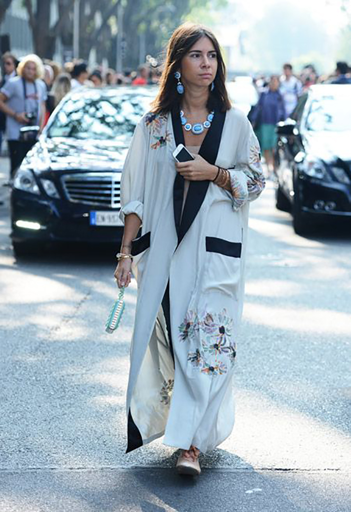 kimono street style spring 2017 outfits inspiration accessories fashion trend style1