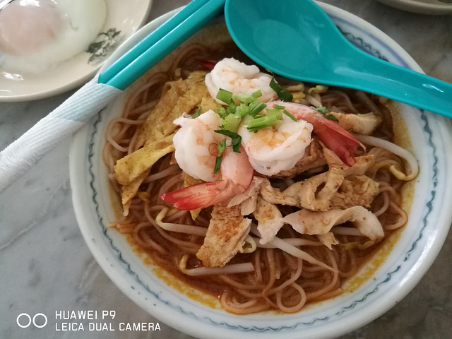 Kuching Food - Kuching Laksa