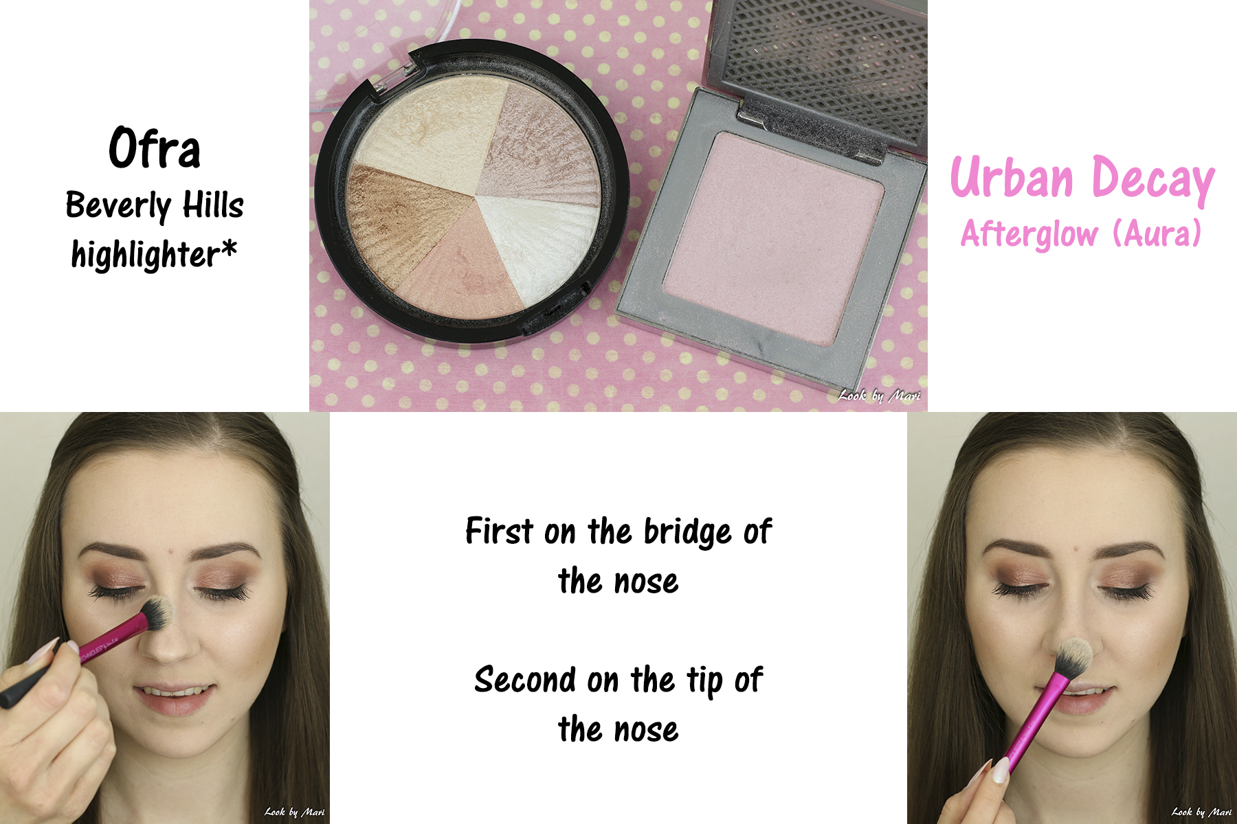 16 nose highlighting how to tutorial afterglow aura review