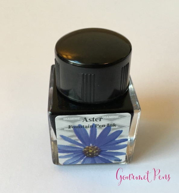 Ink Shot Review Diamine Flowers Aster @AppelboomLaren  8